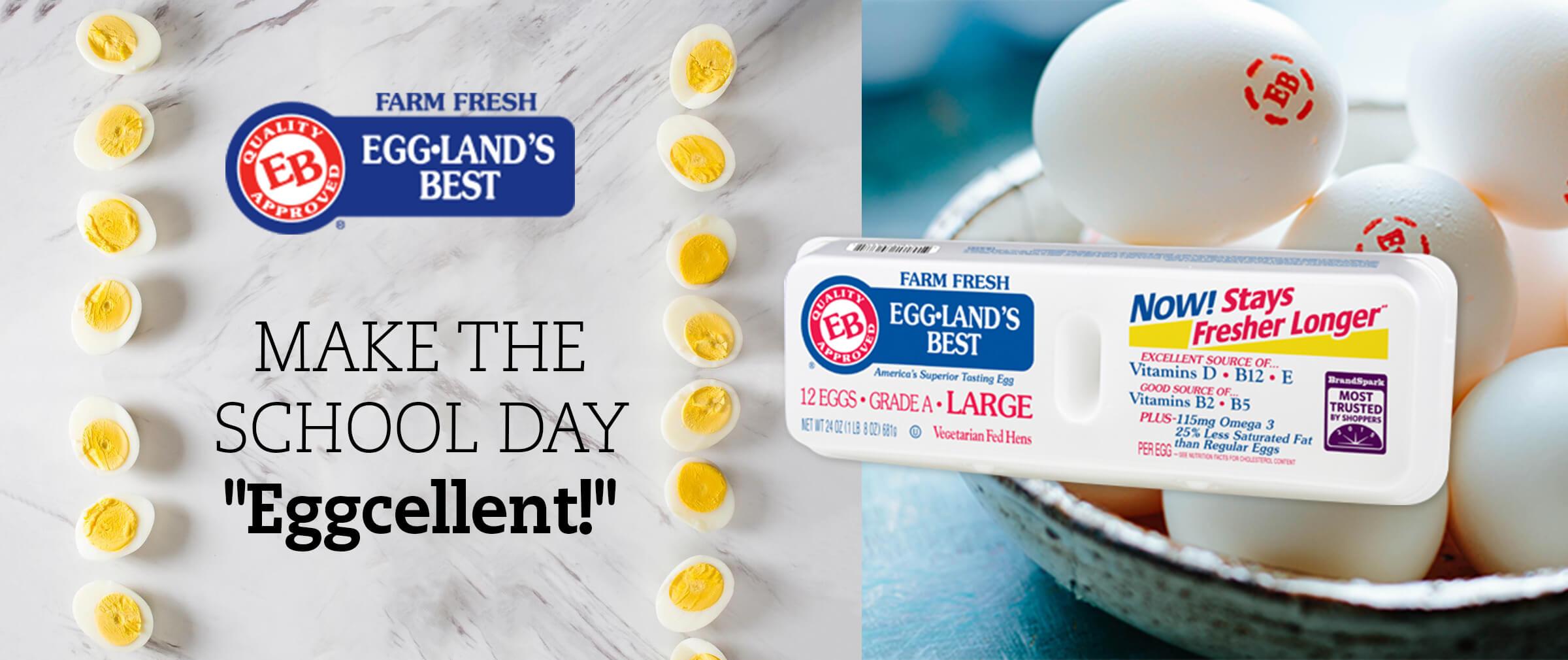 Egglands Best - Make the school day Eggcellent!