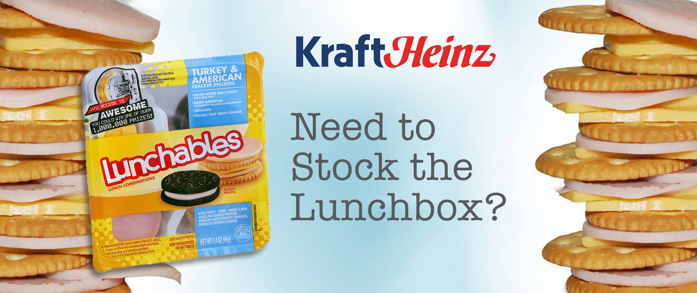 Kraft Heinz - Need to stock the lunchbox?