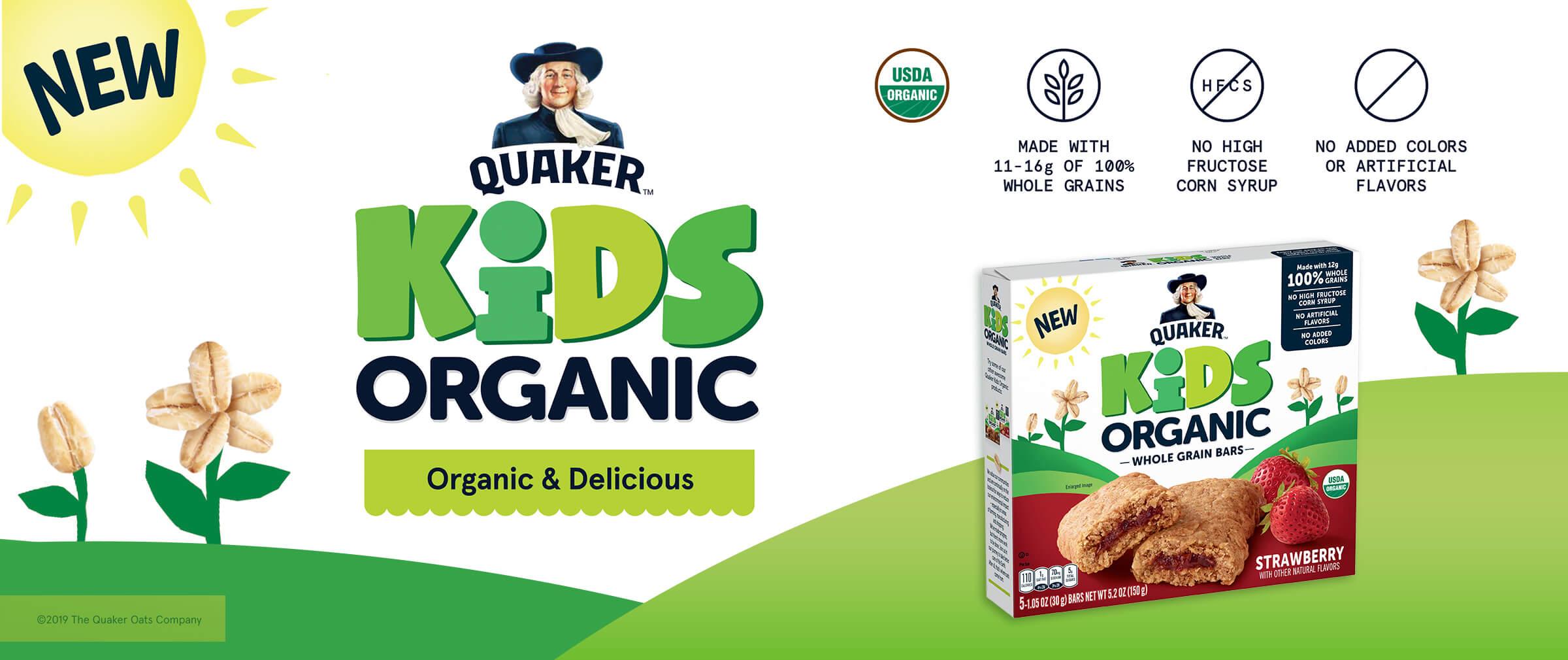 Quaker - Kids organic & delicious